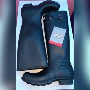 Hunter tall boots navy 7